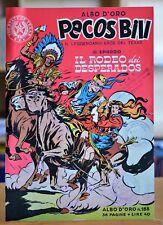 "Locandina Pubblicitaria Originale ""Albo d'oro Pecos Bill"""