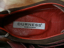 nº 40 41 REBAJAS durness ZAPATILLAS  PIEL NATURAL MARRON,Slippers SIZE 7,5 UK
