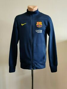Football jacket soccer Sweatshirt FC Barcelona Training 2013/2014 Nike Suit TOP