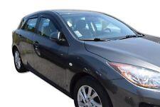 MAZDA 3  5Portes Hatchback 2009-2013 Deflecteurs d'air Déflecteurs de vent 4pcs
