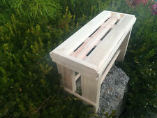 BANCO madera. Modelo Vergel. Largo 58 cms.