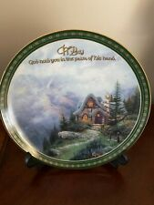 Thomas Kinkade Sweetheart Cottage Iii Plate