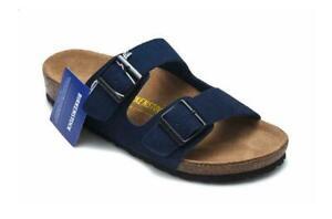 Birkenstock Arizona Birko-Flor Mens Womens Casual Unisex Suede Sandals EU 35-46