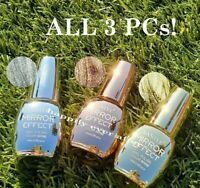 Santee Metallic Mirror Effect Nail Polish - All 3 Colors *US Seller*