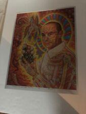 Alex Grey St Albert Hofmann 2006 Signed Numbered Rare Foil Fine Art Giclee Print