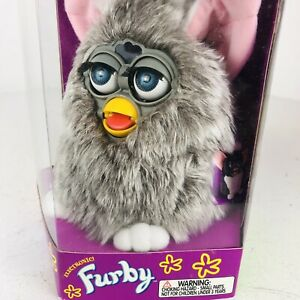 Vintage 1998 Furby Grey NEW In BOX 70-800 READ
