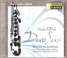 Duo Sax – Music for Two Saxophones / Michael Duke