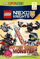 Fachbuch LEGO® Nexo Knights™ Ritter gegen Monster Lesespaß von Lehrern empfohlen