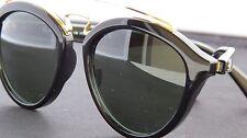 Authentic Ray Ban Gatsby RB 4257 601/71 Black Plastic Sunglasses Green Lens