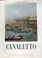 Canaletto - Valcanover - Exempla artium - De agostini 1961