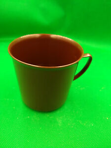 EAST GERMAN/DDR/NVA official issue brown plastic coffee cup