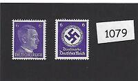 MNH stamp set / PF06 / Adolph Hitler & WWII emblem / Third Reich / MNH stamps