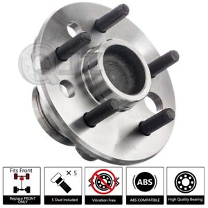 [FRONT(Qty.1)] Wheel Hub Assembly Replacement For 1988 Pontiac Fiero RWD-Model