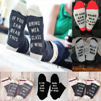 Funny Fashion If You Can Read This/Please Bring Me Wine Men Unisex Lovers Socks