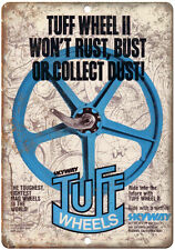 "Skyway BMX Tuff Wheels Mag 10"" x 7"" Metal Sign Vintage Look Reproduction"