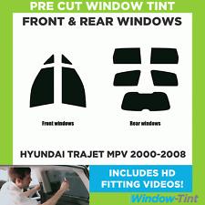 Pre Cut Window Tint - Hyundai Trajet MPV 2000-2008 - Full Kit