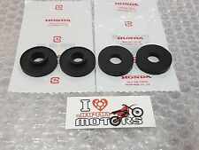 HONDA CHALY CF50 CF 70 NEW GENUINE HANDLEBAR HOLDER CUSHION RUBBERS SET