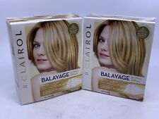 2 Clairol Balayage Highlights for Blondes Lighr to Dark Blonde w/Conditioner New