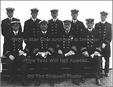 Photo: Captain EJ Smith & Senior Officers Of The RMS Titanic, 1912