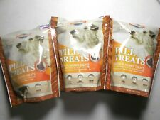 New listing 3X Vet Works Pill Treats Wheat Free, Bacon Flavor, 5.8 oz Each 90 Chews Total