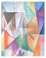 Robert Delaunay Ein Fenster Poster Kunstdruck Bild 60x48cm
