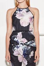 Regular Floral Peplum Sleeveless Tops & Blouses for Women