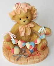 Cherished Teddies Zinnia - 2002 Gcc Catalog Exclusive - Happiness Inside And Out