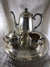 Vintage Wm. Rogers Silver Plated Coffee Set