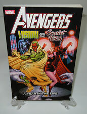 Avengers Vision Scarlet Witch Year in Life Marvel TPB Trade Paperback Brand New
