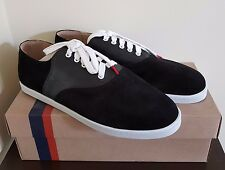 TWINS FOR PEACE suede black men's shoes EUR 44 / US 11 (rrp:149€)