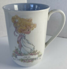 Precious Moments Vintage 1989 Julie Coffee Tea Mug Cup made in Korea