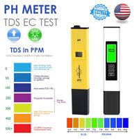 3 In1 Digital PH/TDS EC TEMP Meter Water Test Quality Tester Purity Filter Pen