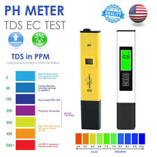 3 In1 Digital PH/TDS EC TEMP Meter Water Test Quality Tester Purity Filter Pen