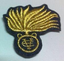 [Militaria] Fregio bustina Reali Carabinieri Ufficiali - Fondo grigioverde
