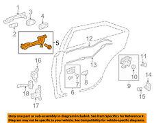 TOYOTA OEM 12-14 Camry Lock -Rear Door-Handle Base Right 6920306071