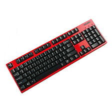 Filco Majestouch Convertible 2 Blue switch 104 Mechanical keyboard Wireless Red