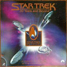 STAR TREK Laserdisc 30 Years  and Beyond JAPAN LD OBI