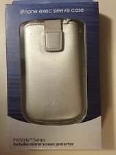 New iKit exec sleeve Case For IPhone 3G 3GS w/ screen protector