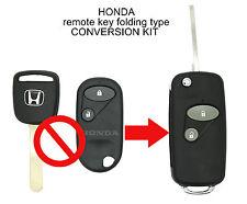 Honda Accord Civi CRV Jazz S2000 etc. 2 Button CONVERSION Flip Remote Key Fob