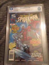 AMAZING SPIDER-MAN #430 1st Cosmic Carnage Hard to Find Newsstand Cbcs 9.0