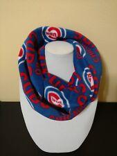 Chicago Cubs Infinity Scarf Women's fleece scarf cowl baseball Blue NEW MLB