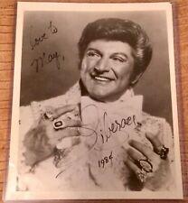 Liberace Inscribed Autograph photo COA