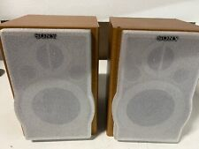New listing Vintage Sony (SS-CEP707) Pair of Wooden Wired Bookshelf Speakers