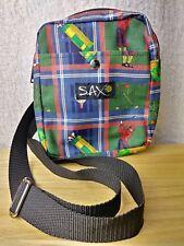 SAX Golf Canvas Crossbody Purse Organizer Bag Vintage Adj Strap Shoulder Tote