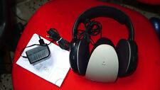 Usado Sennheiser hdr100 Auriculares Audífonos TV inalámbrica 100 HDR estación base