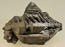 Martite (Hematite after Magnetite) sharp crystal cluster Payun Volcano