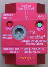 "1-1/2 ""   Vertical Earthquake Gas Shut Off Valve - Little FireFighter"