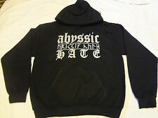ABYSSIC HATE a decade of hate HOODIE L,Nyktalgia,Luror,Alcest,Inquisition,Taake