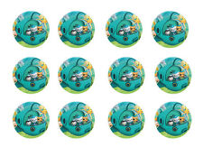 "OCTONAUTS CUPCAKE TOPPERS 12 x 2"" CIRCLES EDIBLE ICING PARTY DECORATION IMAGE"