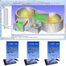 2/3D CAD CAM CNC , Cad Cam Software , 3 Lizenzen im Paket , NEU!